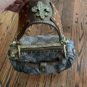 Fleur De Lis Handbag Kathy Van Zeeland perfect